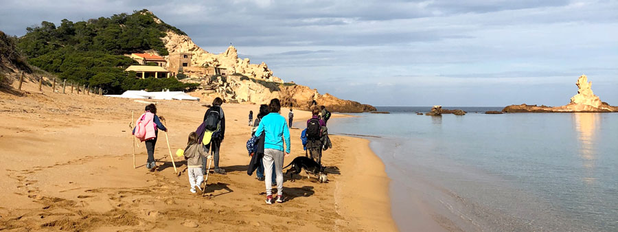 trekking yoga Menorca